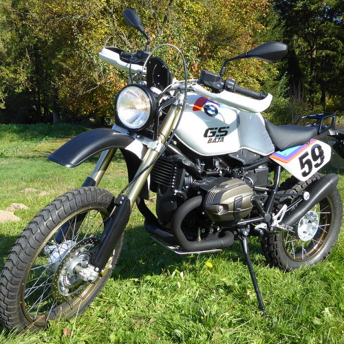 Zweirad Norton BMW nineT Baja Custombike