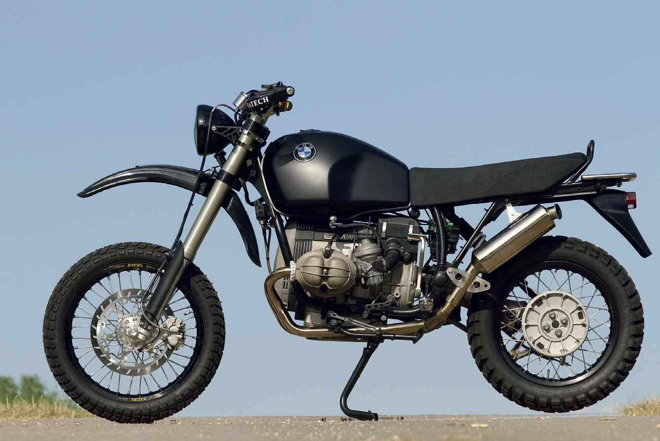 bmw r 100 gs scrambler umbau von zweirad norton bmw. Black Bedroom Furniture Sets. Home Design Ideas