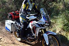 Honda Africa Twin im Touratech Adventure Outfit