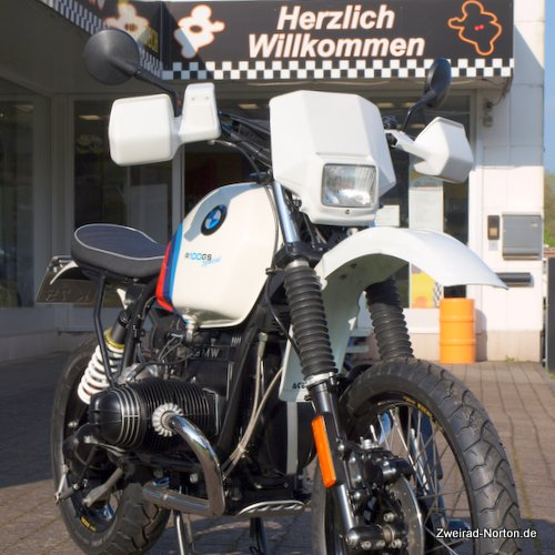 Zweirad Norton Custombike BMW R100 GS Special